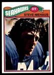 1977 Topps #132  Steve Niehaus  Front Thumbnail