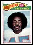 1977 Topps #72  Curtis Johnson  Front Thumbnail