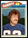1977 Topps #73  Doug Van Horn  Front Thumbnail