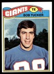 1977 Topps #124  Bob Tucker  Front Thumbnail