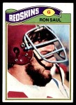 1977 Topps #131  Ron Saul  Front Thumbnail