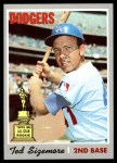 1970 Topps #174  Ted Sizemore  Front Thumbnail