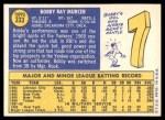 1970 Topps #333  Bobby Murcer  Back Thumbnail