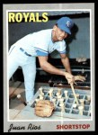 1970 Topps #89  Juan Rios  Front Thumbnail