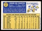 1970 Topps #557  Ed Kranepool  Back Thumbnail