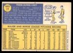 1970 Topps #77  Frank Linzy  Back Thumbnail