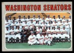 1970 Topps #676   Senators Team Front Thumbnail