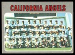 1970 Topps #522   Angels Team Front Thumbnail