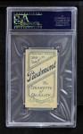 1909 T206 POR Jack Knight  Back Thumbnail