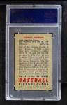 1951 Bowman #291  Tommy Henrich  Back Thumbnail