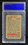 1951 Bowman #260  Carl Erskine  Back Thumbnail