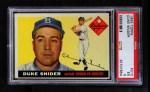1955 Topps #210  Duke Snider  Front Thumbnail