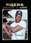1971 Topps #503  Gates Brown  Front Thumbnail