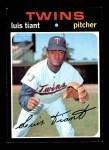 1971 Topps #95  Luis Tiant  Front Thumbnail