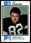 1973 Topps #163  Jim Houston  Front Thumbnail