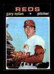 1971 Topps #75  Gary Nolan  Front Thumbnail