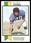 1973 Topps #271  Clint Jones  Front Thumbnail