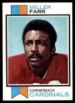 1973 Topps #272  Miller Farr  Front Thumbnail