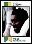 1973 Topps #160  Bob Brown  Front Thumbnail