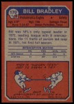 1973 Topps #170  Bill Bradley  Back Thumbnail
