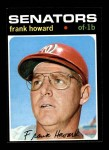 1971 Topps #620  Frank Howard  Front Thumbnail