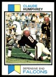 1973 Topps #200  Claude Humphrey  Front Thumbnail