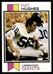 1973 Topps #201  Pat Hughes  Front Thumbnail