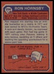 1973 Topps #256  Ron Hornsby  Back Thumbnail