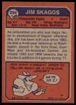 1973 Topps #294  Jim Skaggs  Back Thumbnail