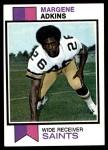 1973 Topps #161  Margene Adkins  Front Thumbnail