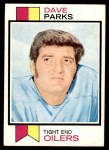 1973 Topps #179  Dave Parks  Front Thumbnail