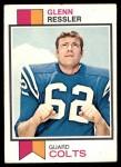 1973 Topps #204  Glenn Ressler  Front Thumbnail