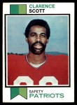 1973 Topps #221  Clarence Scott  Front Thumbnail
