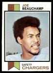 1973 Topps #226  Joe Beauchamp  Front Thumbnail