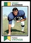1973 Topps #239  Grady Alderman  Front Thumbnail