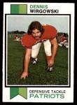 1973 Topps #249  Dennis Wirgowski  Front Thumbnail