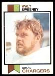 1973 Topps #252  Walt Sweeney  Front Thumbnail