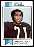 1973 Topps #255  Walter Johnson  Front Thumbnail