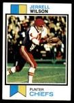 1973 Topps #260  Jerrel Wilson  Front Thumbnail