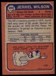 1973 Topps #260  Jerrel Wilson  Back Thumbnail