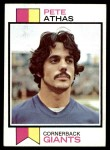 1973 Topps #286  Pete Athas  Front Thumbnail