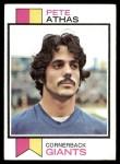1973 Topps #286  Pete Athas  Front Thumbnail