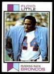 1973 Topps #289  Floyd Little  Front Thumbnail