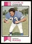 1973 Topps #301  Charlie Cowan  Front Thumbnail