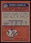 1973 Topps #305  Ron Shanklin  Back Thumbnail