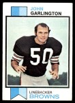 1973 Topps #311  John Garlington  Front Thumbnail