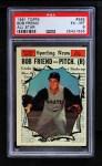 1961 Topps #585   -  Bob Friend All-Star Front Thumbnail