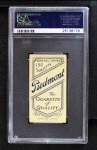 1909 T206 BAT Bill Bergen  Back Thumbnail