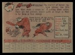 1958 Topps #399  Marv Grissom  Back Thumbnail