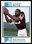 1973 Topps #405  Frank Pitts  Front Thumbnail